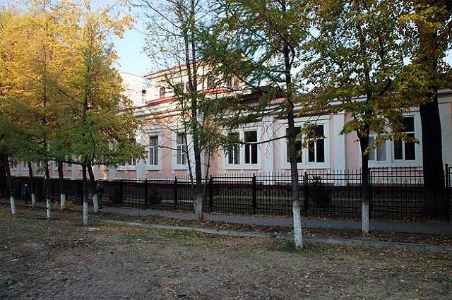 Здание гимназии имназии после