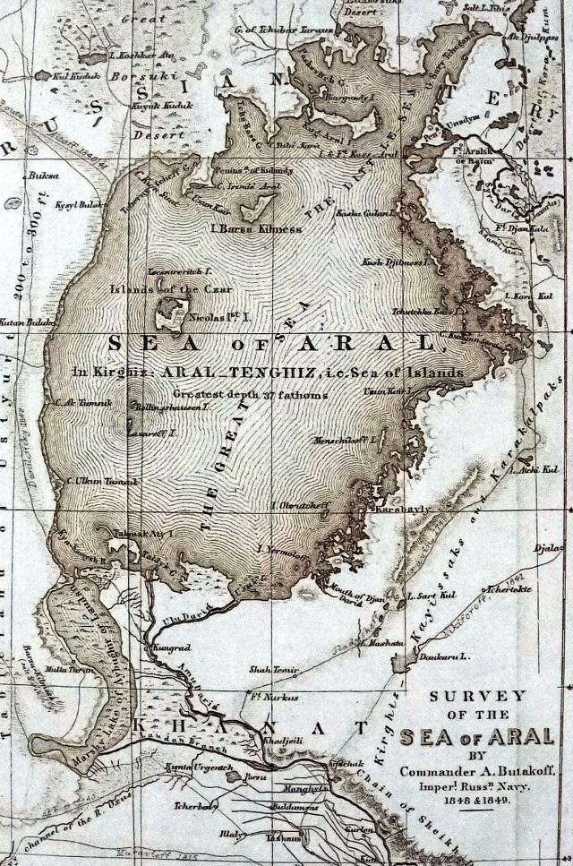 Карта Бутакова.