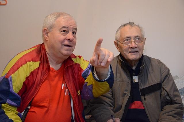Подробности операции вспоминают Владимир Вуколов (слева) и Ерванд Ильнский.