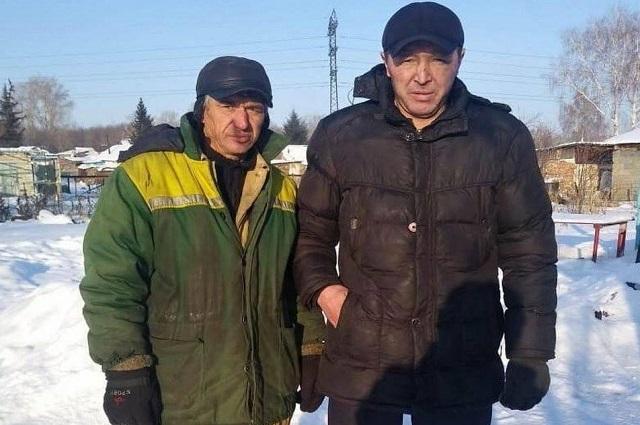 Арман Кайсенов и Геннадий Семиков
