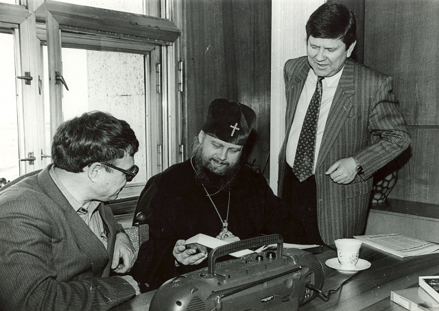 Архиепископа отличало редкостное обаяние, талант общения.