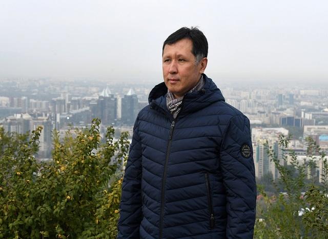 Асыл Сагимбеков.