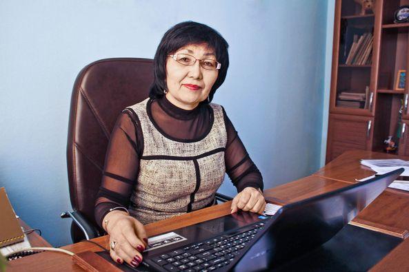 Бибигуль Шагиева.