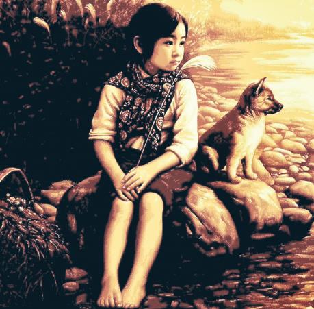 «Маленький компаньон», работа Ли Баофэн.