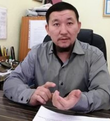 Жаслан Айтмаганбетов.